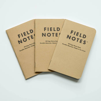 Field Notes -  Ruled Notes 3-Pack