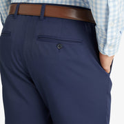 Mizzen + Main Baron Performance Trim Chino - Navy Solid