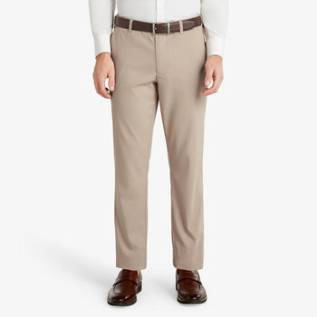 Mizzen + Main Baron Performance Trim Chino - Sand Solid