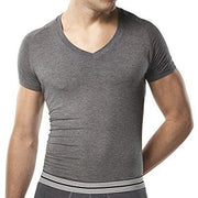 Mr. Davis Traditional V Undershirt - Charcoal