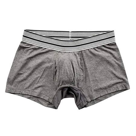 Mr Davis Trunk Underwear Grey Bamboo