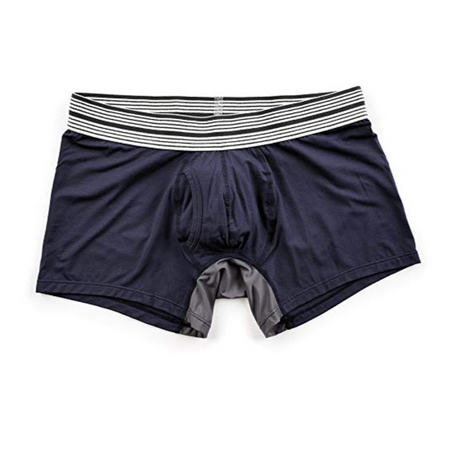 Mr Davis Trunk Underwear Navy Bamboo