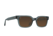 Raen Friar Sunglasses - Slate/Vibrant Brown Polarized