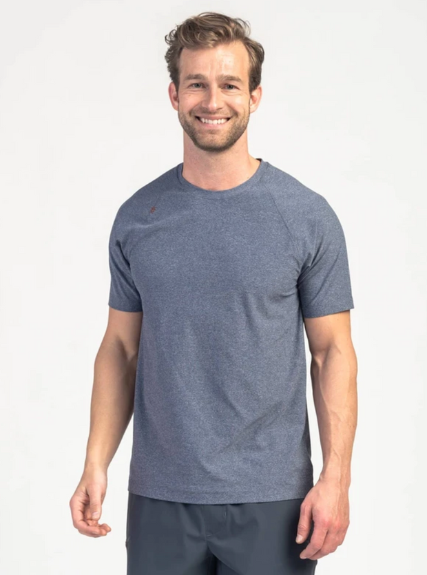 Rhone Reign Training T-Shirt - Midnight Heather