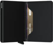 SECRID Slimwallet - Soft Touch Black
