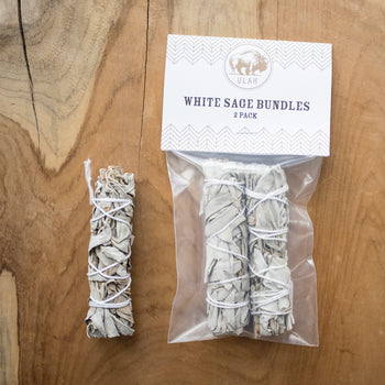 ULAH White Sage Bundles - 2 Pack
