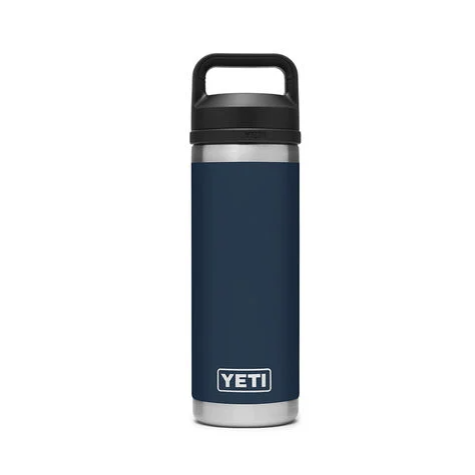 Yeti Rambler 18oz Bottle w/ Chug Cap - Navy