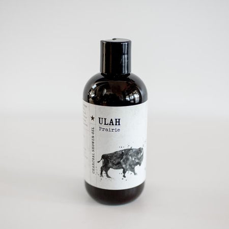 ULAH Prairie Charcoal Shower Gel 12oz