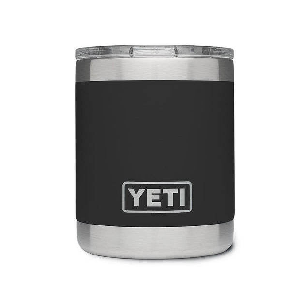 YETI Rambler 10oz Lowball - Black