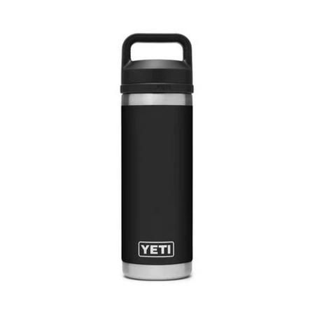 Yeti Rambler 18oz Bottle w/ Chug Cap - Black