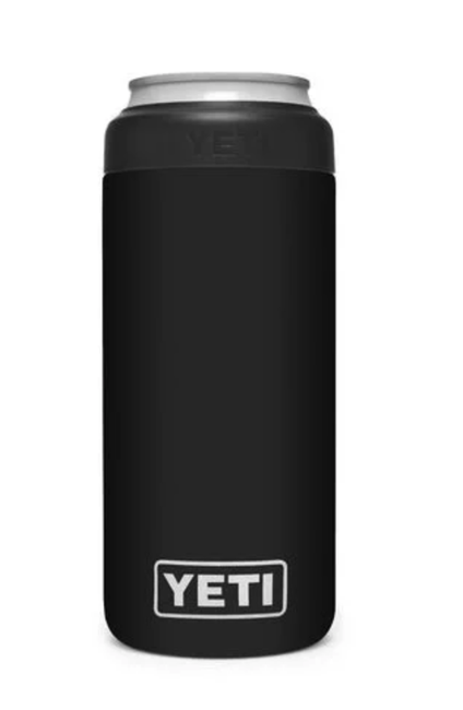 YETI Rambler Colster Slim Can Insulator - Black