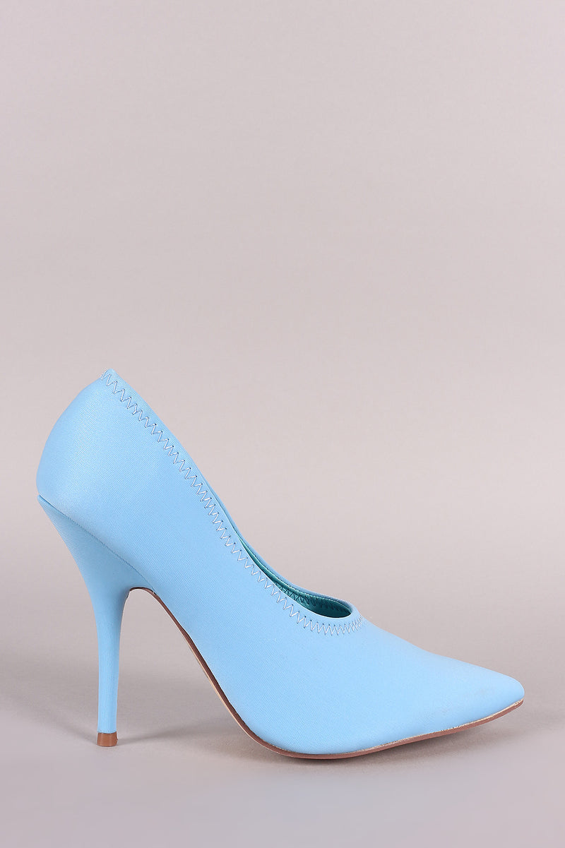Pointy Toe Stiletto Pumps