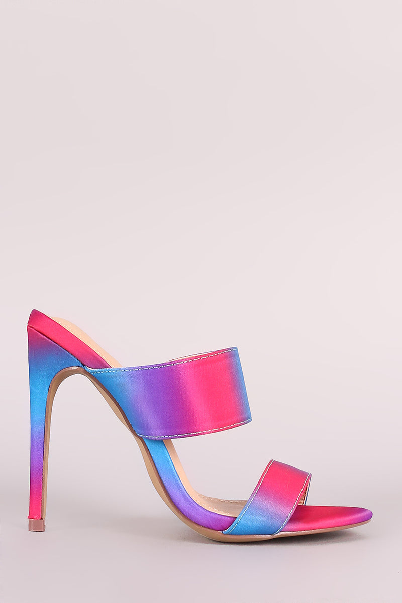 Beautiful double band stiletto heels
