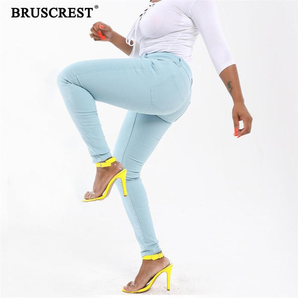 Mujer 2020 Ladies Trousers Denim Long StreetWear Jeans