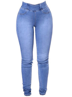 Wipalo Womens Plus Size Fashion Slim Fit Stretchy Skinny Jeans