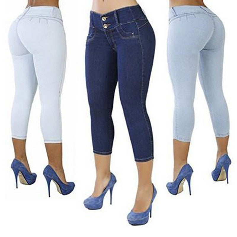 Women Jeans Package Buttocks 2020