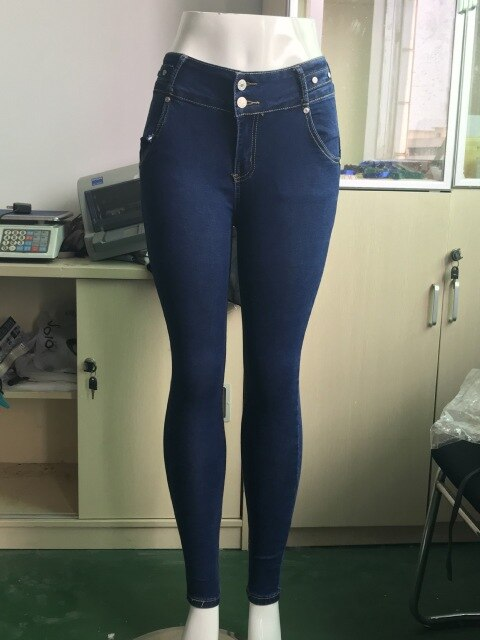 2020 Women Jeans Push Up Stretch Skinny Jeans