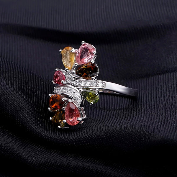 Natural Tourmaline Rings