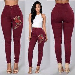 2020 Fashion Women High Waist Casual Leggings Jeans