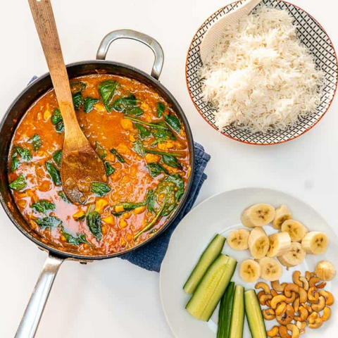Veggie loaded curry
