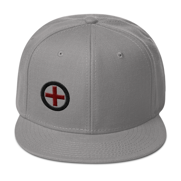 Wheel and Axle - Wheelchair Rugby Clothing - Snapback Hat