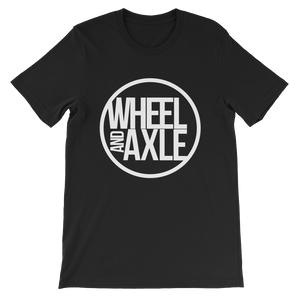 Wheel and Axle Original Logo Short-Sleeve Unisex T-Shirt
