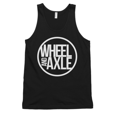 Wheel and Axle - Original Logo Wheelchair Sports Clothing - American Apparel - Fine Jersey Tank Top Unisex