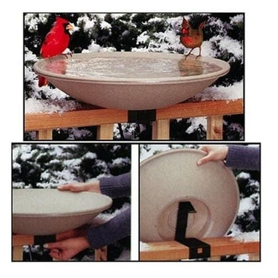 Deck Mounted Bird Baths