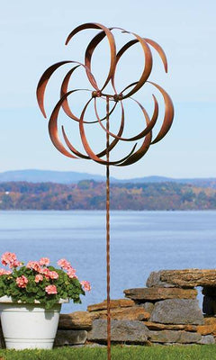 Kinetic Dual Flower Copper Colored 87