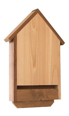 Deluxe Cedar Bat House for 20 bats - BirdHousesAndBaths.com