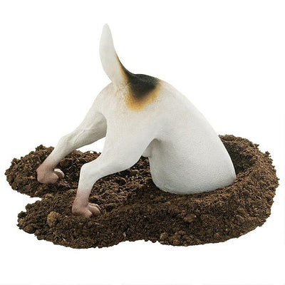 Terrence the Terrier Digging Dog Statue
