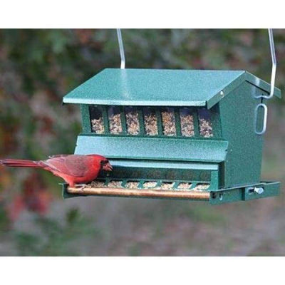 Absolute Bird Feeder with Pole and Hanger