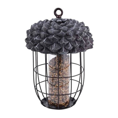 Acorn Silo Bird Feeder - BirdHousesAndBaths.com