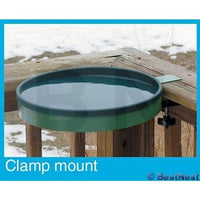 3in1 Green and Light Green Heated Bird Bath