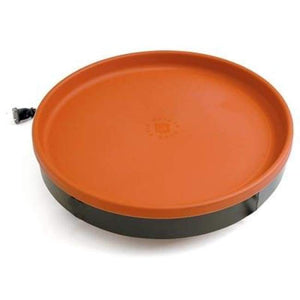 All Seasons 3in1 Heated Terra Cotta and Black Bird Bath - BirdHousesAndBaths.com
