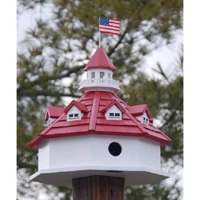 Annapolis Lighthouse Bird House - BirdHousesAndBaths.com