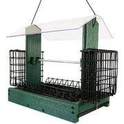 Audubon Going Green 5-in-1 Green Bird Feeder - BirdHousesAndBaths.com