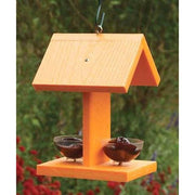 Audubon Going Green Oriole Feeder with Fruit Dishes - BirdHousesAndBaths.com