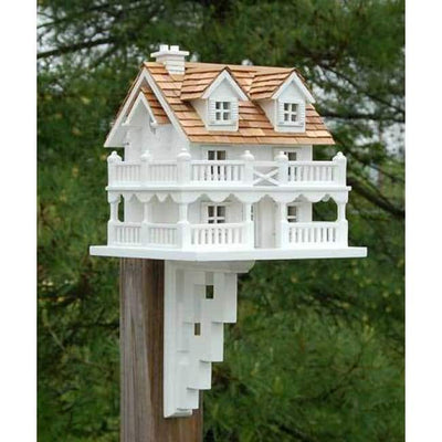 Cape Cod Bird House with Bracket - BirdHousesAndBaths.com
