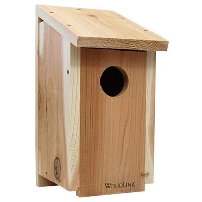 Cedar Woodpecker House - BirdHousesAndBaths.com