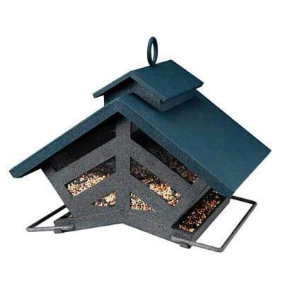 Chalet Deluxe Double Sided Bird Feeder - BirdHousesAndBaths.com