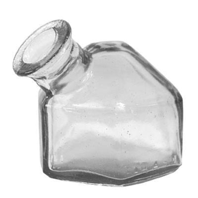 Classic Hexagonal Clear Replacement Bottle - BirdHousesAndBaths.com