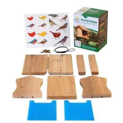 Classic Hopper Feeder DIY Craft Kit - BirdHousesAndBaths.com