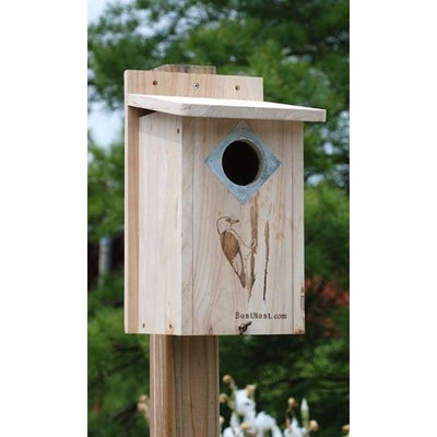 Classic Three-Woodpecker House - BirdHousesAndBaths.com