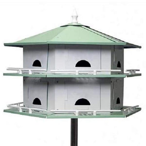 Convertible Purple Martin 12 Room House - BirdHousesAndBaths.com