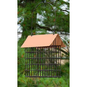 Coppertop Double Suet Cage Feeder - BirdHousesAndBaths.com