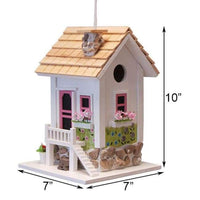 May Cottage Bird House - BirdHousesAndBaths.com