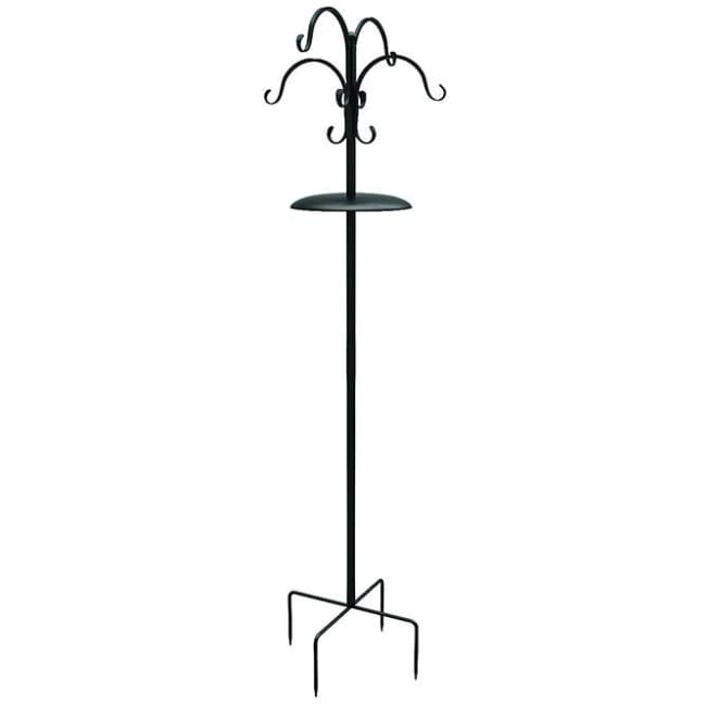 "Deluxe Bird Black Feeding Station Kit, 7'9"" - BirdHousesAndBaths.com"
