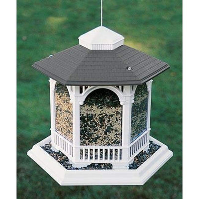 Deluxe Gazebo Bird Feeder - BirdHousesAndBaths.com