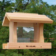 Deluxe Large Cedar Bird Feeder - BirdHousesAndBaths.com